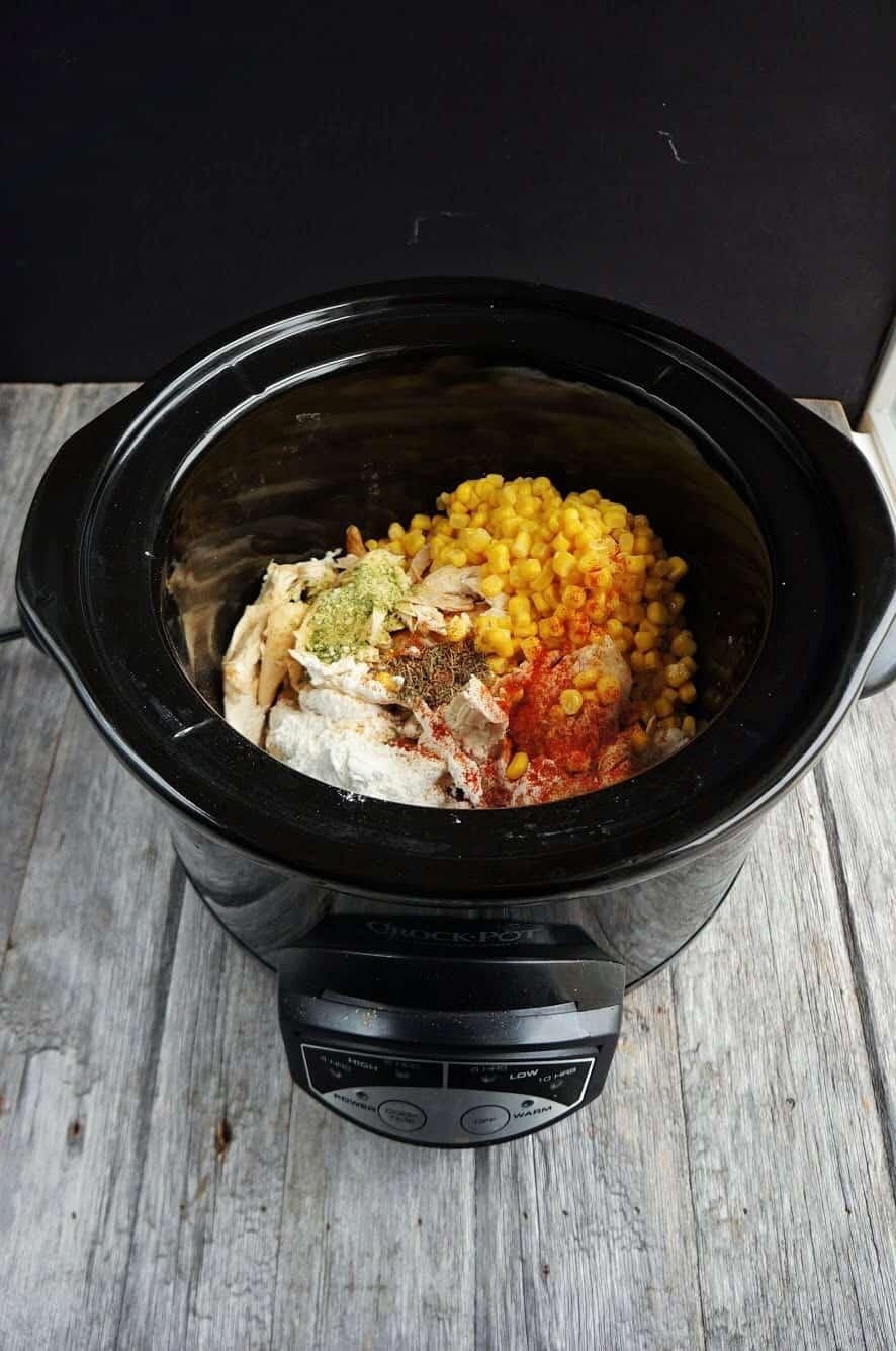 ingredients in the crock pot