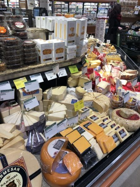 Whole Foods Cheese section