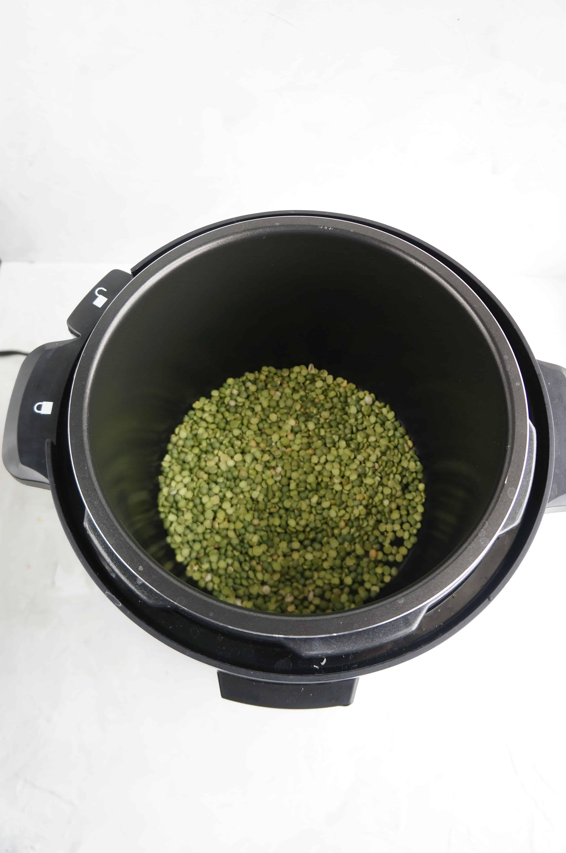 split peas in instantpot