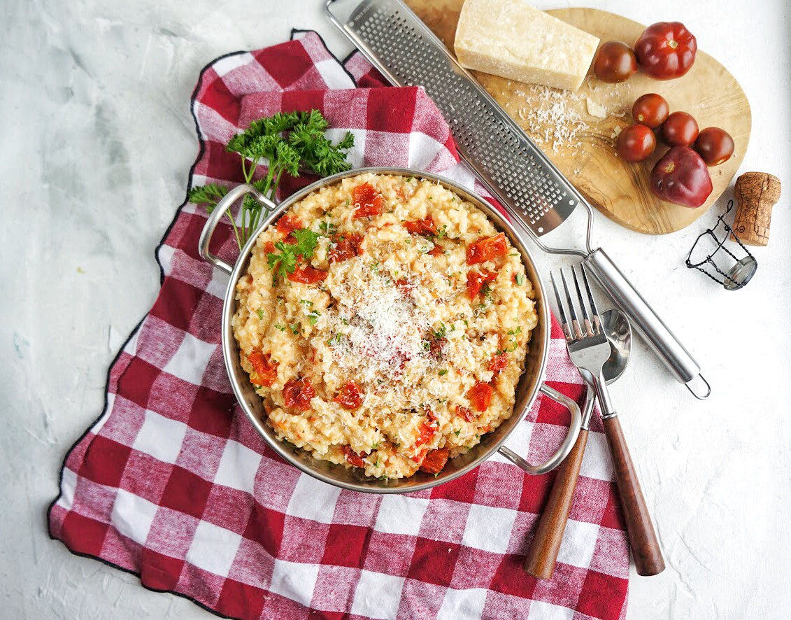 Instantpot red pepper risotto